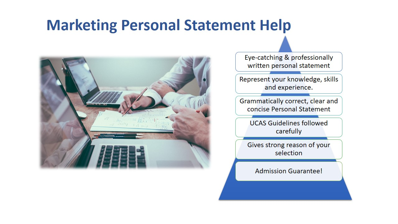 personal statement marketing